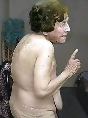 Granny sucks old hard latino dick